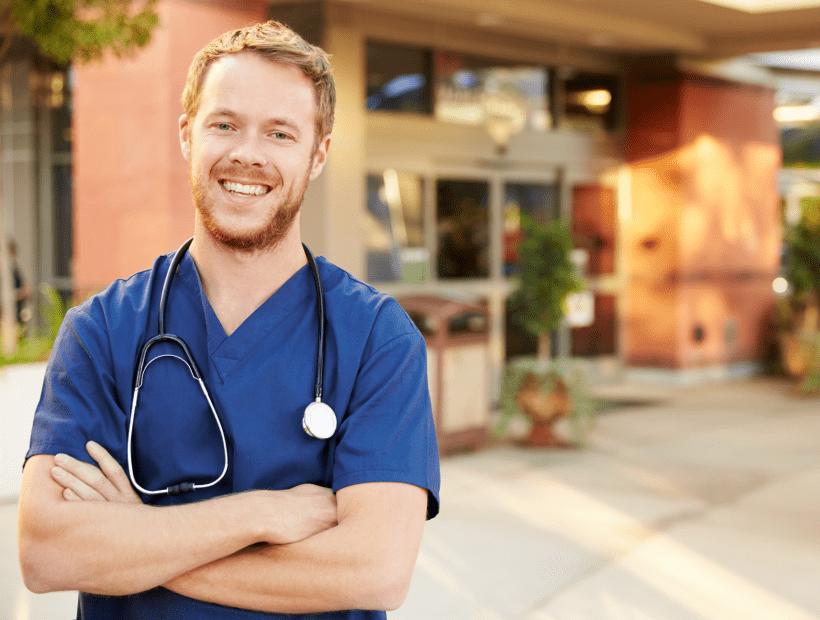 travel nurse outside of career-enhancing facility