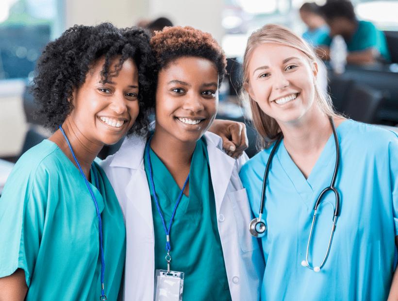 travel nurses at a new facility