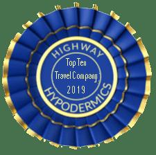 TNAA wins Top Ten travel company from highway hypodermics