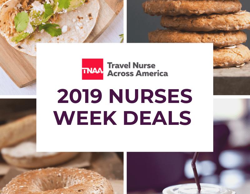 deals for nurses week 2019