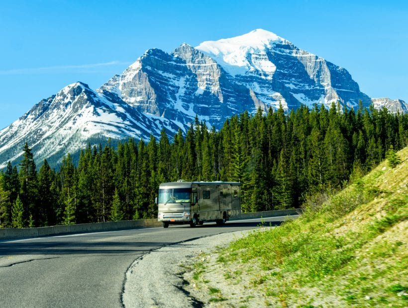 traveling in an rv